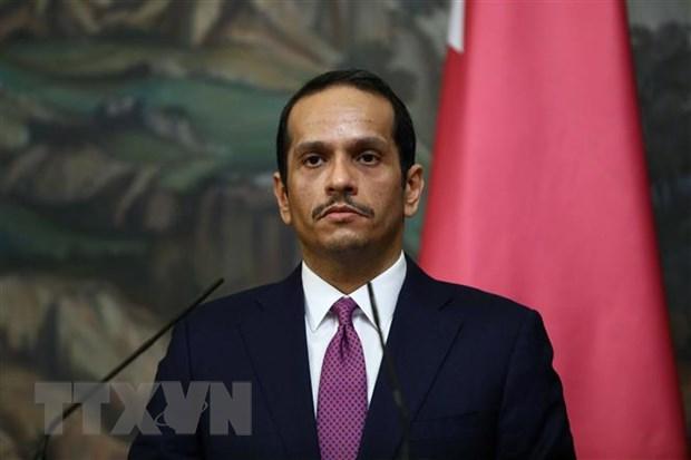 Qatar keu goi cac nuoc vung Vinh doi thoai voi Iran hinh anh 1