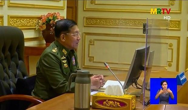 Tu lenh quan doi Myanmar tuyen bo khong thay doi chinh sach doi ngoai hinh anh 1