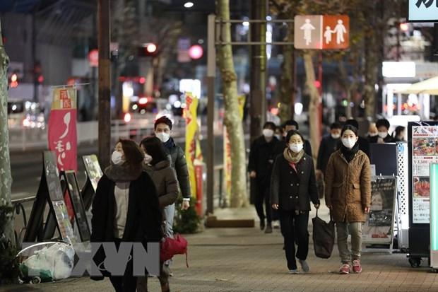 Dich COVID-19: Nhat Ban gia han tinh trang khan cap o thu do Tokyo hinh anh 1