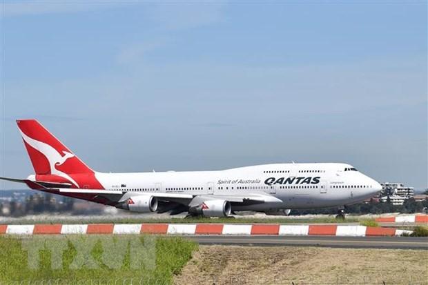 Hang hang khong Qantas thu nghiem
