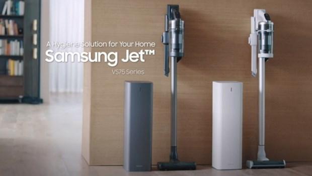 Samsung Electronics ra mat may hut bui cao cap moi tai Han Quoc hinh anh 1