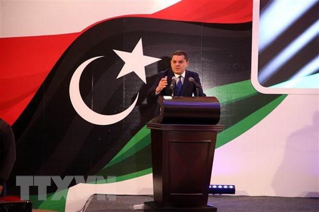 Thủ tướng lâm thời của Libya Abdul Hamid Dbeibah . Ảnh: THX/TTXVN