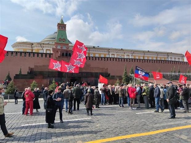 Nga ky niem sinh nhat lan thu 151 cua lanh tu Vladimir Ilyich Lenin hinh anh 3
