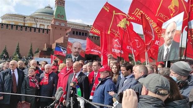 Nga ky niem sinh nhat lan thu 151 cua lanh tu Vladimir Ilyich Lenin hinh anh 1
