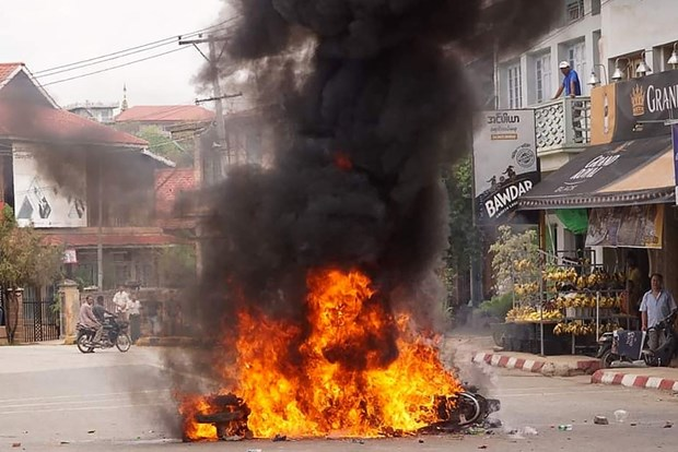 Myanmar: No bom thu khien nhieu nguoi thiet mang hinh anh 1