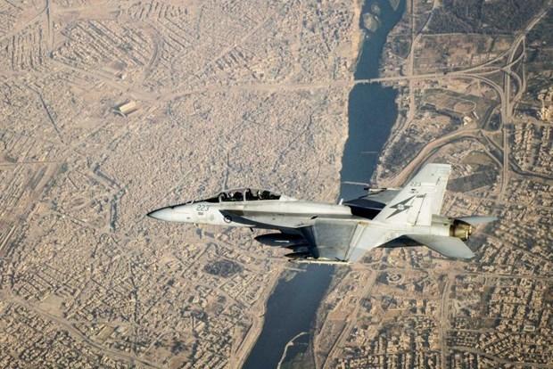 My trien khai nhieu may bay chien dau F-18 toi Saudi Arabia hinh anh 1