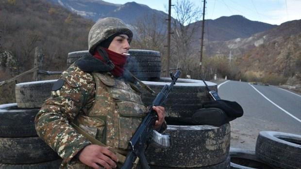Cang thang Azerbaijan-Armenia tai dien, mot binh si bi thuong hinh anh 1