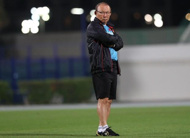 HLV Park Hang-seo dau dau voi bai toan thay the Van Lam hinh anh 1