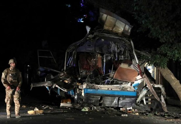 Afghanistan: Hai vu danh bom tai thu do Kabul lam 12 nguoi thiet mang hinh anh 1