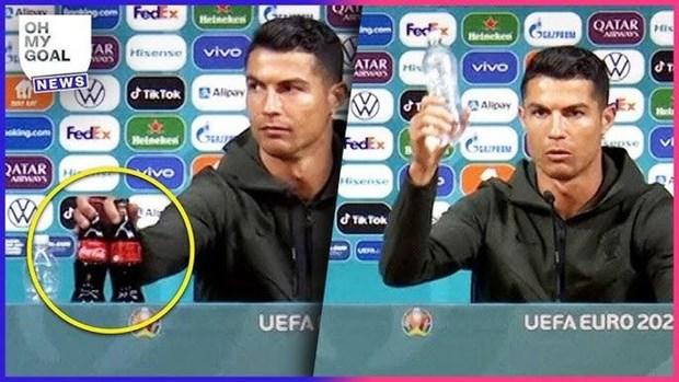 Cristiano Ronaldo va Coca-Cola: Cuoc chien giua hai thuong hieu hinh anh 1