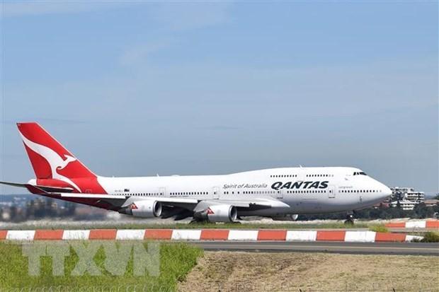 Hang hang khong Qantas hoat dong duoi 40% cong suat do dai dich hinh anh 1