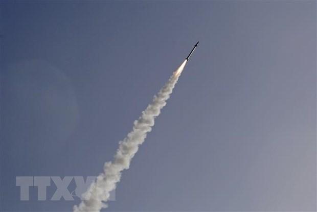 Iraq: Tan cong rocket gan Dai su quan My o Baghdad hinh anh 1