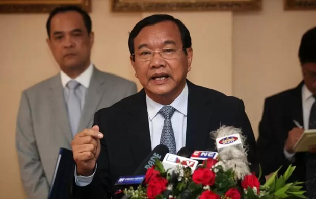 Campuchia hoan nghenh ket qua cac hoi nghi Bo truong Ngoai giao ASEAN hinh anh 1