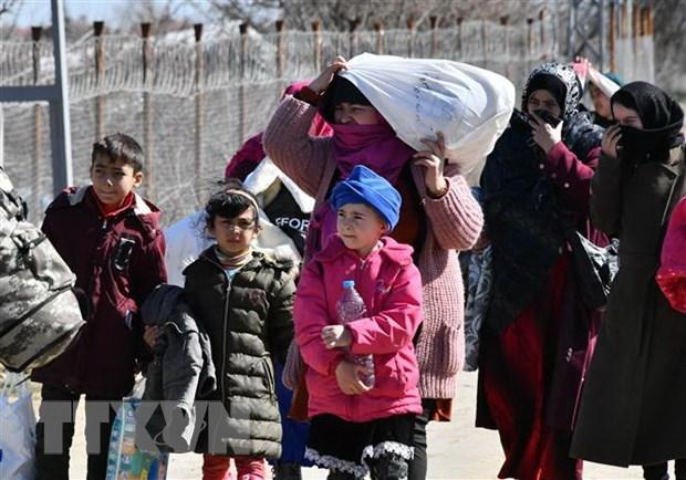 Ngay cang nhieu nguoi di cu tu Syria va Afghanistan vao EU hinh anh 1