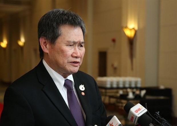 Hop tac giua ASEAN voi EU tiep tuc phat trien tren nhieu linh vuc hinh anh 1