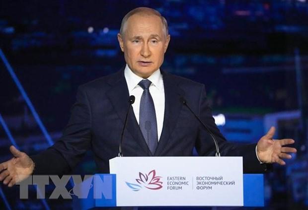 Tong thong Nga Putin khang dinh SCO can hop tac voi Taliban hinh anh 1