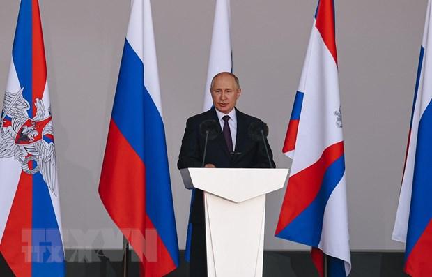 Dien Kremlin khang dinh cuoc bau cu dien ra trung thuc va cong khai hinh anh 1