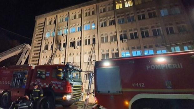 Romania: Chay benh vien dieu tri COVID-19 khien 9 nguoi thiet mang hinh anh 1