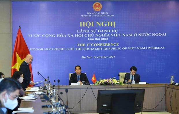 Hoi nghi Lanh su danh du nuoc CHXHCN Viet Nam o nuoc ngoai hinh anh 1