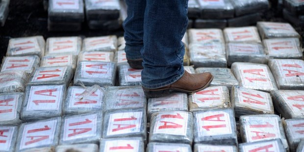 Canh sat Honduras thu giu 1,5 tan cocaine o khu vuc mien Bac hinh anh 1
