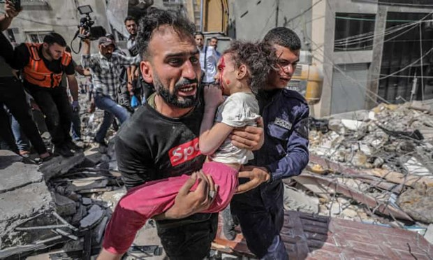 Xung dot Israel-Palestine: VN len an tan cong nham vao dan thuong hinh anh 1
