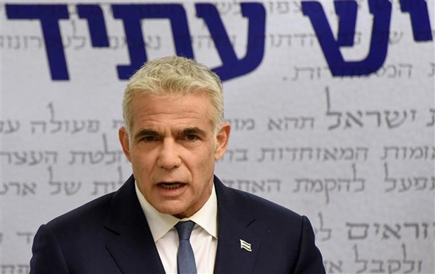 Israel: Bo phieu ve thoa thuan thanh lap chinh phu moi vao ngay 13/6 hinh anh 1
