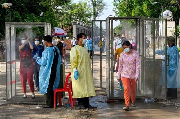 COVID-19: Dai dien WHO keu goi nguoi dan Campuchia phoi hop chong dich hinh anh 1