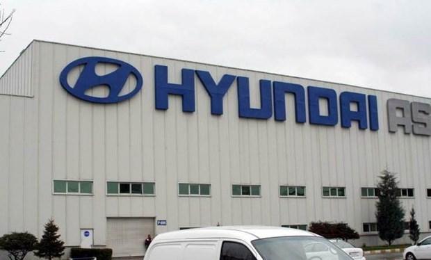 Hyundai tam ngung hoat dong nha may tai My do thieu chip hinh anh 1