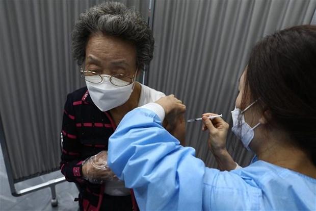 Han Quoc: Chien dich tiem vaccine hieu qua lon voi nguoi cao tuoi hinh anh 1