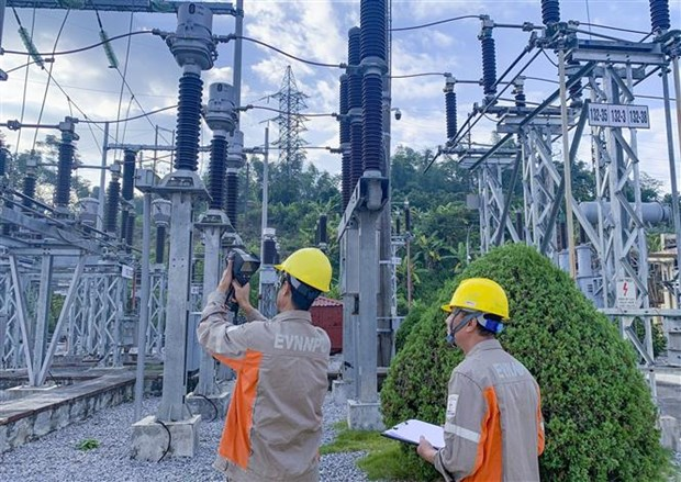 Ha Noi: Nguy co thieu dien vi cham tien do duong day 500kV hinh anh 1