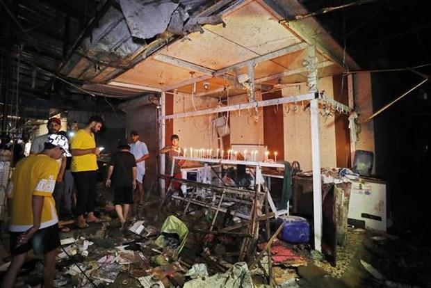 Iraq bat giu cac nghi pham dung sau vu danh bom o Baghdad hinh anh 1