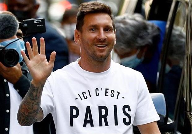 Messi nhan