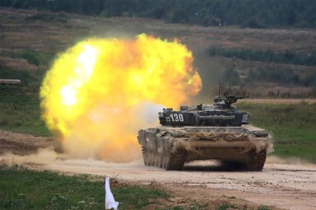 Khai mac hoi thao quan su Army Games 2021 tai Trung Quoc hinh anh 1