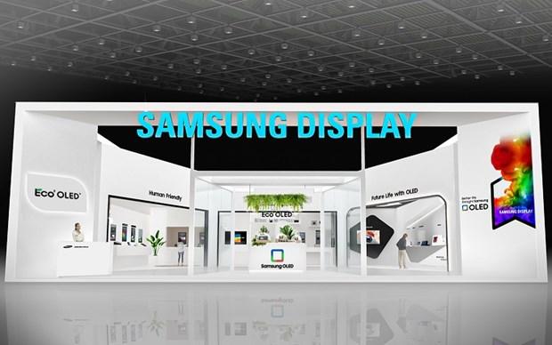 """Samsung Display, LG Display """"chay dua"""" cong nghe tai IMID 2021 hinh anh 1"""