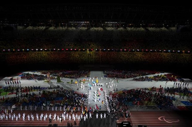 Le be mac gian di chinh thuc khep lai Paralympic Tokyo 2020 hinh anh 1