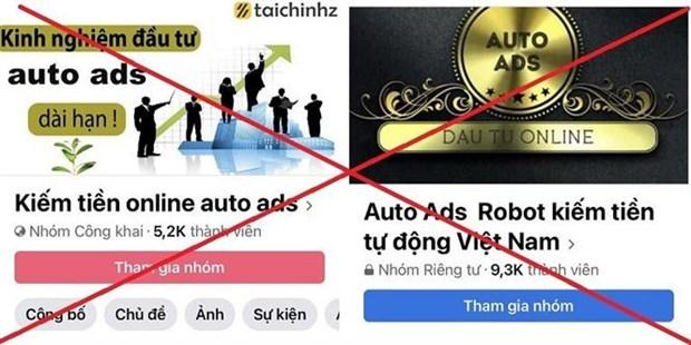 Ha Noi: Auto Ads co dau hieu vi pham kinh doanh