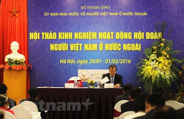 Nang cao hieu qua cong tac van dong nguoi Viet o nuoc ngoai hinh anh 1
