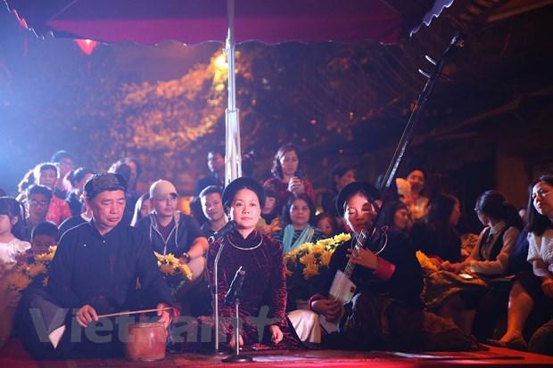 Pho di bo Ha Noi lung linh trong chuong trinh