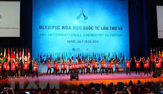 Khai mac Olympic Hoa hoc quoc te lan thu 46 tai Viet Nam hinh anh 1