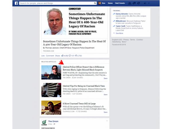 Facebook thu nghiem dinh nhan