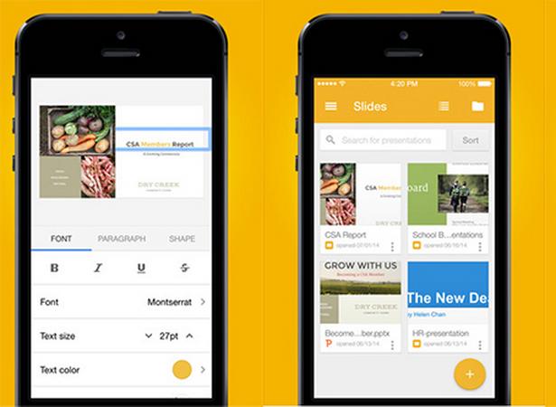 Google phat hanh ung dung trinh chieu cho iPhone va iPad hinh anh 1