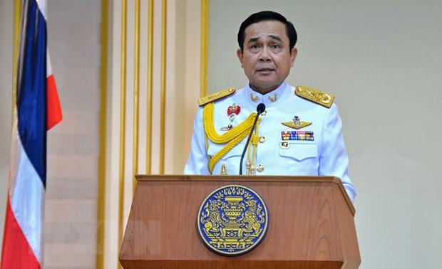 Thu tuong gui dien chuc mung Thu tuong lam thoi Thai Lan hinh anh 1