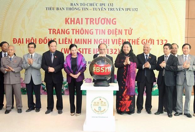 Quoc hoi Viet Nam de xuat chu de cua Dai hoi dong IPU-132 hinh anh 1
