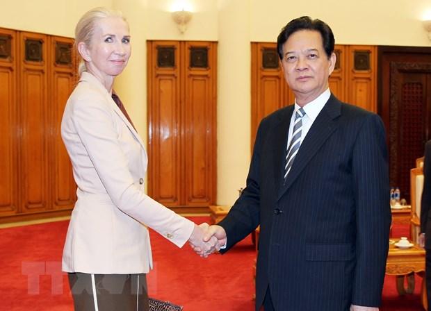 Thu tuong Nguyen Tan Dung tiep tan Dai su Na Uy o Viet Nam hinh anh 1