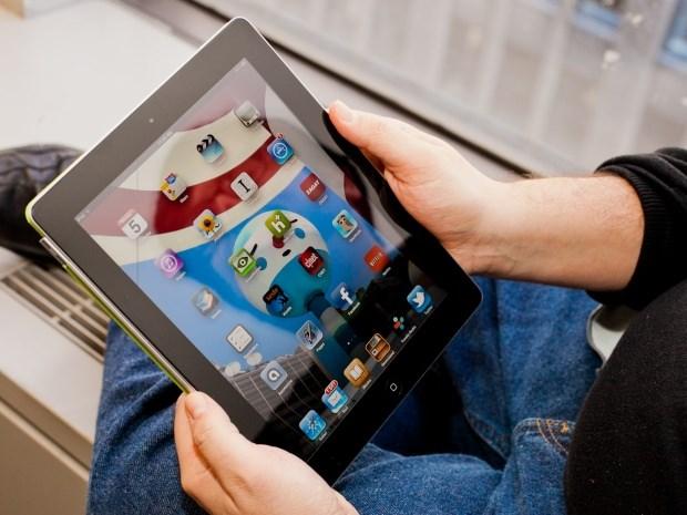 Thi truong may tinh bang lan doc cung su suy giam cua iPad hinh anh 1