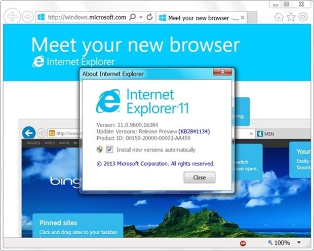 Microsoft se ra trinh duyet moi thay the Internet Explorer? hinh anh 1