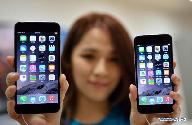 Lan dau tien luong iPhone tieu thu tai Trung Quoc vuot My hinh anh 1
