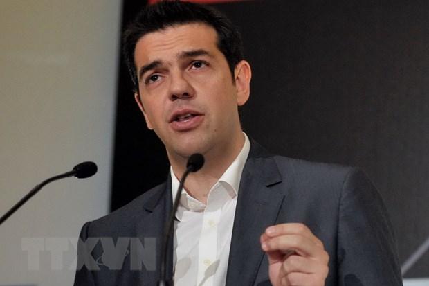 Ong Alexis Tsipras tuyen the nham chuc Thu tuong Hy Lap hinh anh 1