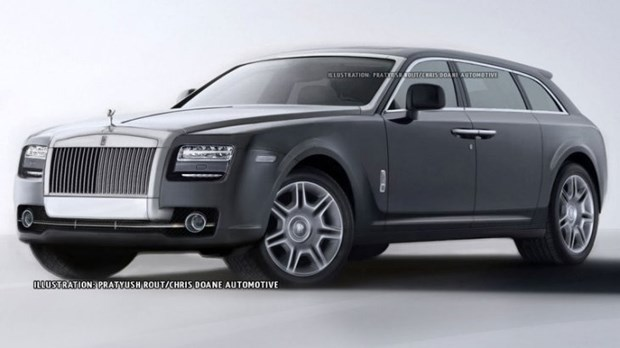 Rolls-Royce cong bo ke hoach chi tiet mau xe SUV dau tien hinh anh 1