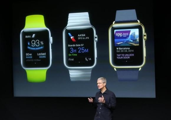 Tim Cook tiet lo Apple Watch se thay the chia khoa xe oto hinh anh 1